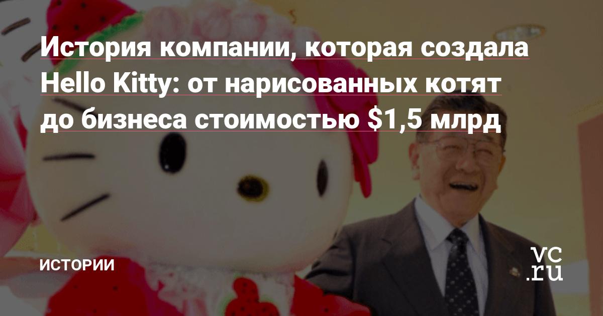 История компании, которая создала Hello Kitty: от нарисованных котят до бизнеса стоимостью $1,5 млрд