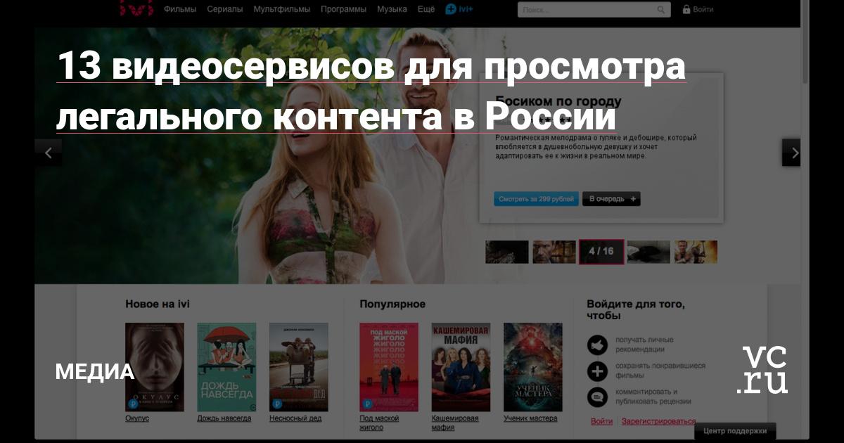 5af2e2b4034 13 видеосервисов для просмотра легального контента в России — Офтоп на vc.ru